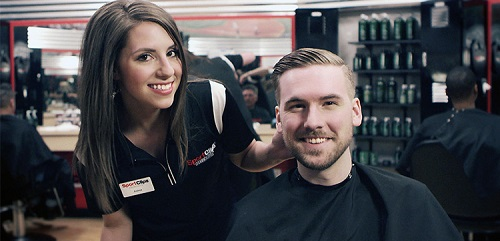Sport Clips Haircuts of Powers & N.Carefree​ stylist hair cut
